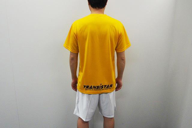 Tシャツ 黄色