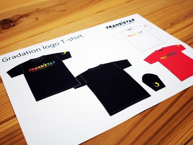 グラデーションロゴTシャツ