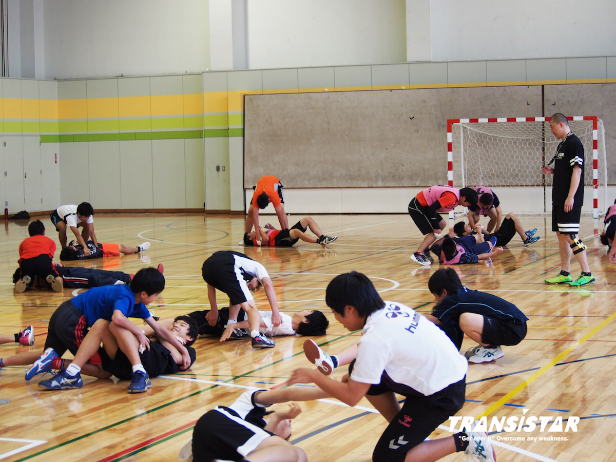 保護者の方も「櫛田さんに来て頂けるようになってから、子どもたちは本当に変わりました。皆、楽しそうにハンドボールをやっています」と仰っていました。