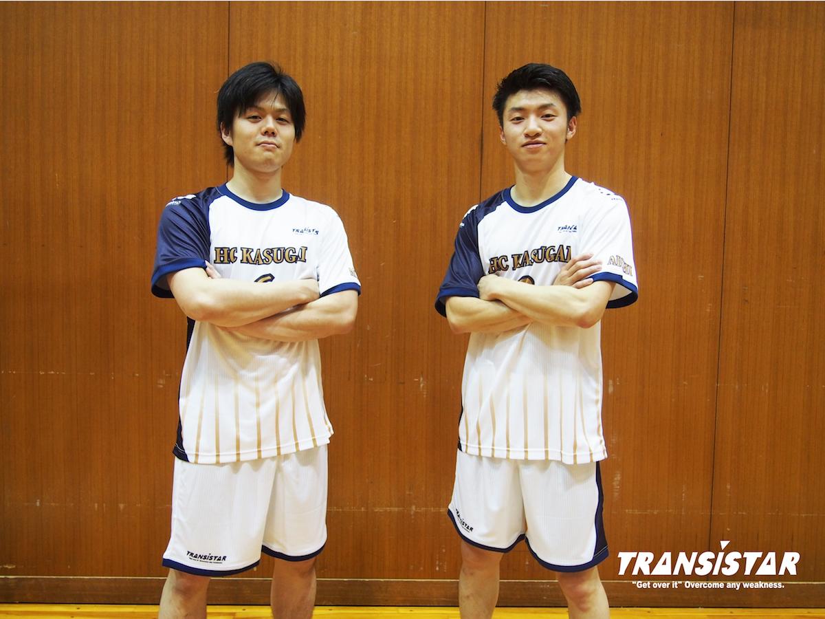 新シーズンのキーパーソン金子選手(左)と清野選手(右)